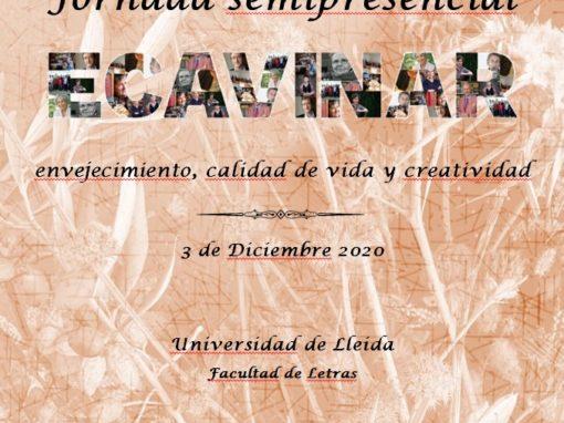 Jornada semipresencial Envejecimiento, calidad de vida y creatividad (Proyecto ECAVINAR)
