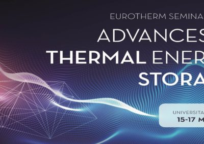 Eurotherm Seminar nº112 – Advances in Thermal Energy Storage