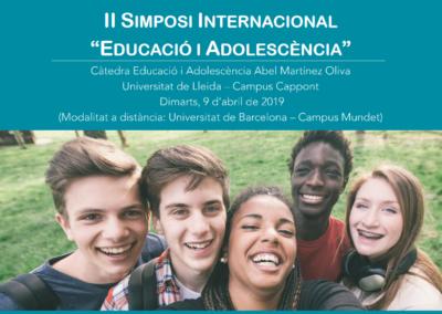 """II Simposi Internacional """"Educació i Adolescència"""""""